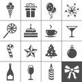 Holidays and event icons simplus series vector illustration Stock Image