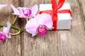 Holidays Gift And Orchid