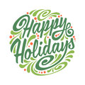 Holidays Greeting Card With Ab...