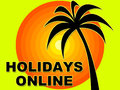 Holidays Online Means Web Site...