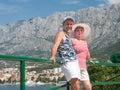 Holidays at sea. Croatia Royalty Free Stock Photo