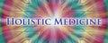 Holistic medicine design with mandala Royalty Free Stock Photos
