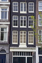 Holland house with window Royalty Free Stock Photo