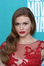 Holland Roden at the 2012 MTV Movie Awards Arrivals, Gibson Amphitheater, Universal City, CA 06-03-12 Royalty Free Stock Image