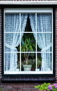 Holland window old outdoor netherlands Royalty Free Stock Photography