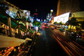 Holliday Lights of Bangkok Stock Image