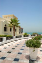 Holliday villa luxury hotel ras al khaimah uae Royalty Free Stock Photo