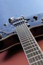 Hollow Body Guitar Royalty Free Stock Photo