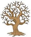 Hollow tree Royalty Free Stock Photo