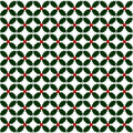 Holly repeat pattern Royalty Free Stock Image