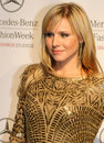 Hollywood Actress Kristen Bell on Red Carpet Stock Photography