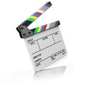 Hollywood Clapper board Royalty Free Stock Image