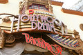 Hollywood Dream Ride and Backdrop station
