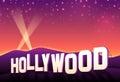 Hollywood Hills Royalty Free Stock Photo
