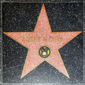 Sonny & Chers star on Hollywood Royalty Free Stock Photo