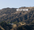 Hollywood sign, Los Angeles, California Royalty Free Stock Photography