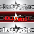 Hollywood star Royalty Free Stock Images