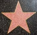 Hollywood Star Royalty Free Stock Photo