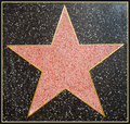 Hollywood Star Framed