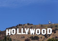 Hollywood tecken Royaltyfri Foto