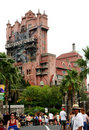 Hollywood Tower of Terror Stock Photos