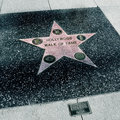 Hollywood Walk of Fame, Los Angeles, United States Stock Photo
