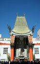 Hollywoods graumans chinese theater iconic in los angeles california Royalty Free Stock Photos