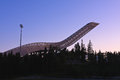 Holmenkollen ski jump Royalty Free Stock Photo