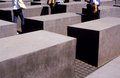 Holocaust memorial Berlin Stock Photography