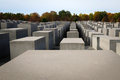 Holocaust Memorial Berlin Royalty Free Stock Images