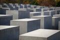 Holocaust Memorial, Berlin Royalty Free Stock Photo