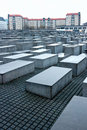 HOLOCAUST MEMORIAL, Berlin, Germany. Royalty Free Stock Images