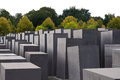 Holocaust Memorial, Berlin, Germany. Royalty Free Stock Photos