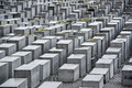 Holocaust memorial in berlin germany Stock Images