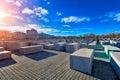 Holocaust Memorial Berlin Germany Royalty Free Stock Photo