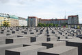The Holocaust monument Royalty Free Stock Photography
