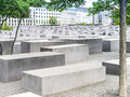 Holocaust monument an image of the in berlin germany Royalty Free Stock Photos