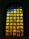 Holocaust stained glass Stock Images