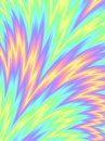 Holographic foil background Abstract Rainbow Bush Colorful wave pattern Royalty Free Stock Photo