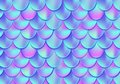 Holographic mermaid tail card or background. Mesh Gradient merma