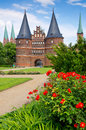 Holstentor. Lubeck, Germany Stock Images
