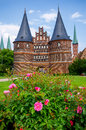 Holstentor. Lubeck, Germany Stock Photography
