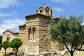 Holy Apostles Church In Athens, Greece Stock Photography