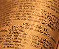 Holy bible close up of Royalty Free Stock Photo