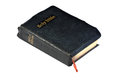 The holy bible closed with marker ribbon Stock Photos