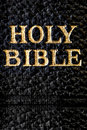 Holy Bible Macro Stock Photography