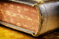 Holy bible macro photo Royalty Free Stock Images