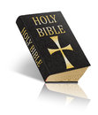 The holy bible sacred scriptures an illustration of a isolated on white background Royalty Free Stock Photo