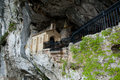 Holy Cave of Covadonga - Spain Royalty Free Stock Photo