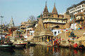 Holy City Benaras In India Stock Images